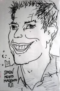 Simon Sprankel gezeichnet